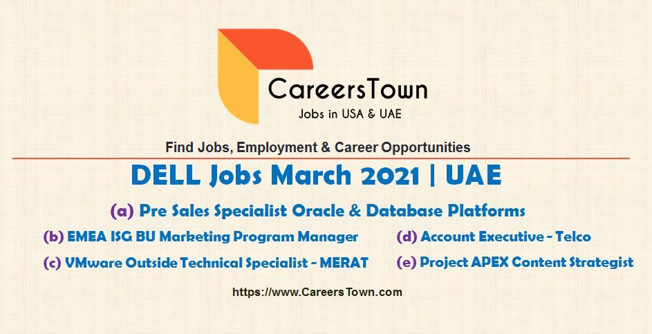 Pin By Careerstown On United Arab Emirates Jobs In 2021 Technology Job Programme Manager Marketing Program