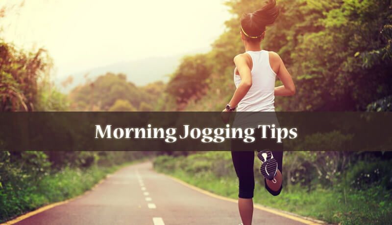 what to do before jogging in the morning