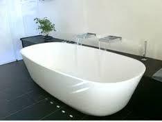 Freistehende Badewanne Campione Aus Mineralguss Weiß Matt Oder