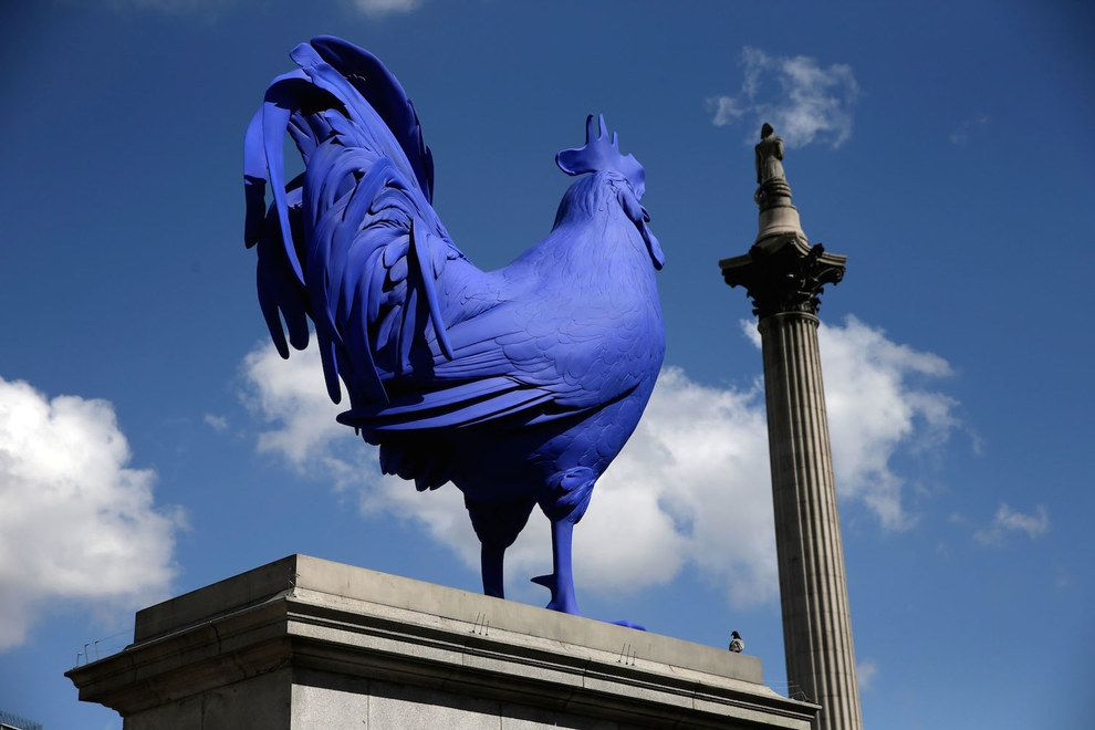 Because there's always something new on the fourth plinth. | 57 Reasons Living In London Ruins You For Life