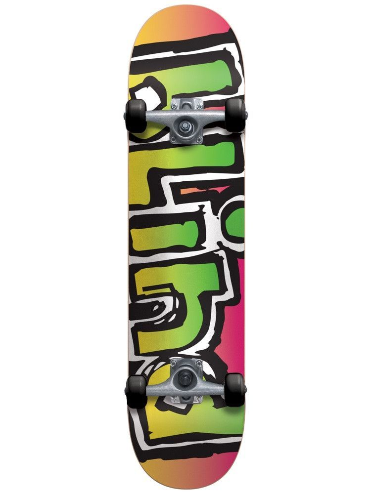 f12f41a39aa5d Blind Matte OG Logo 7.0 First Push Soft Wheel Complete Skateboard MINI