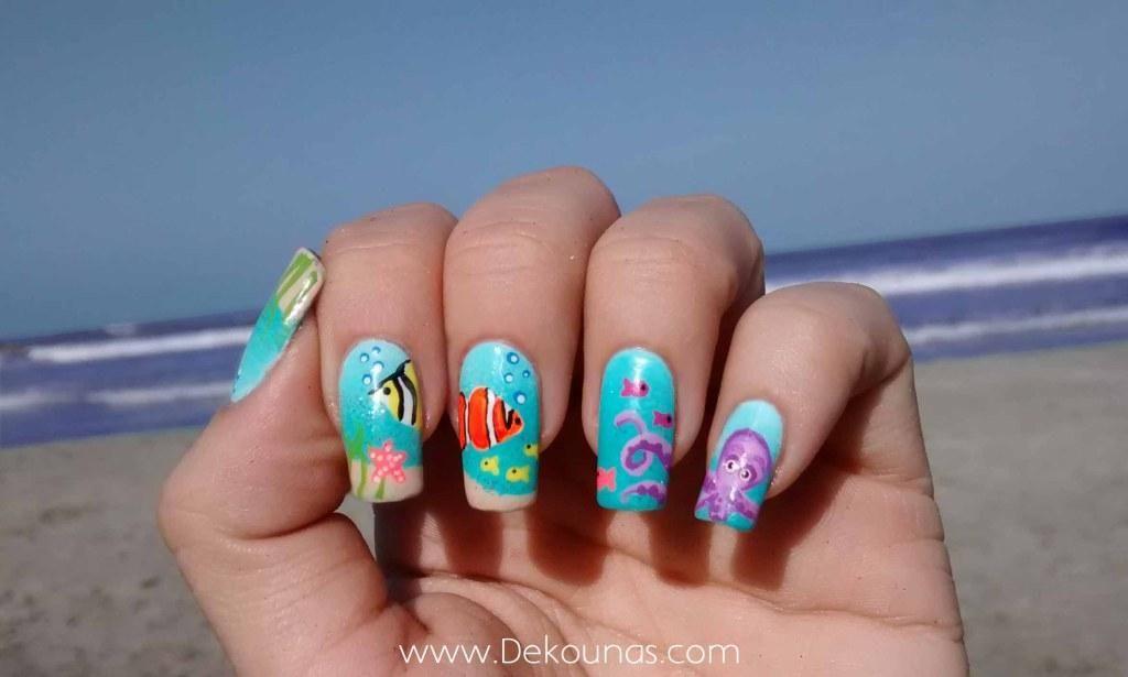 Decoración de uñas playa | Cuidar de tu belleza es facilisimo.com