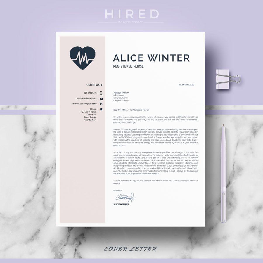 Nurse resume template for ms word alice nursing