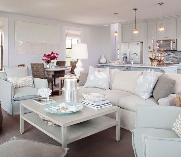Cottage style furniture · chic combinations sea mist greige