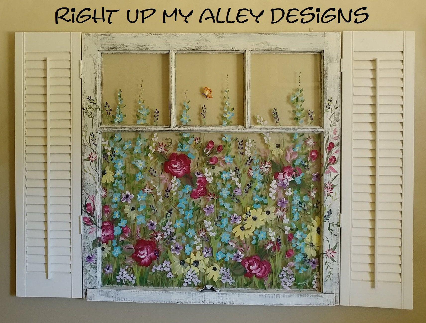 Painted window ideas,SOLD window ideas,windows and shutters,window ...