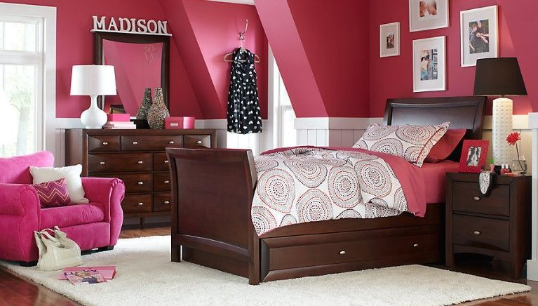 50 Cute Teenage Girl Bedroom Ideas How To Make A Small Space Feel Big Girls Bedroom Sets Girls Bedroom Furniture Kids Bedroom Sets