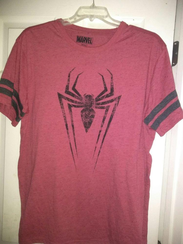 317f65b09a4 The Amazing SPIDER MAN 2 Men s T-Shirt -MARVEL COMICS Spidey RED - 2XL