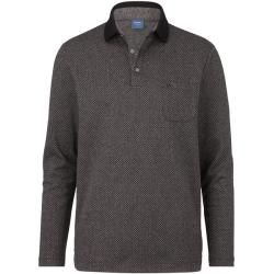 Photo of Olymp casual polo shirt, modern fit, anthracite, S Olymp