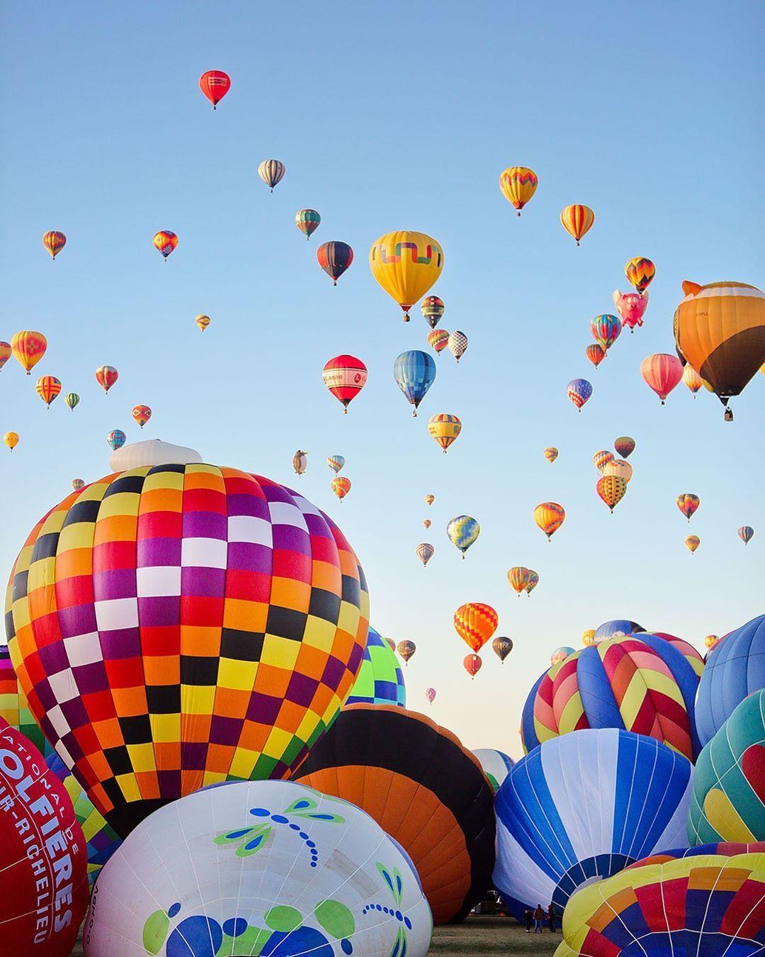 Albuquerque Hot Air Balloon Festival in New Mexico