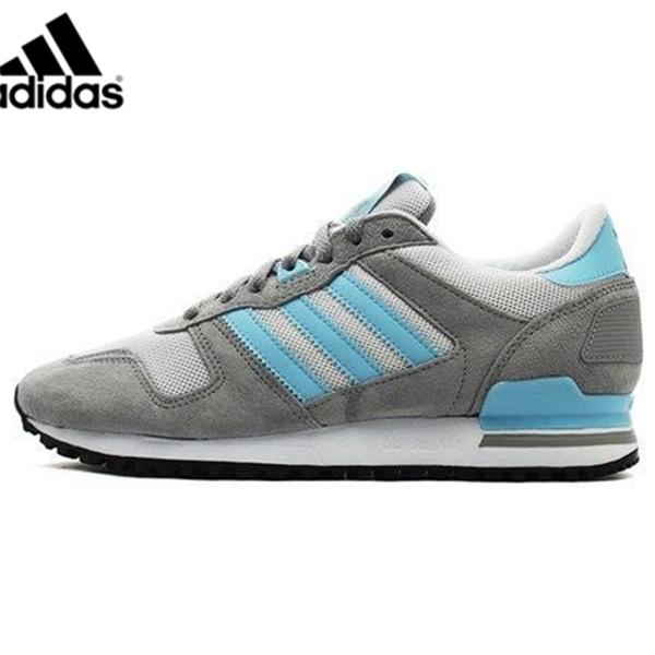 Men's Adidas Originals ZX 700 Shoes GreyBlue M19393,Adidas