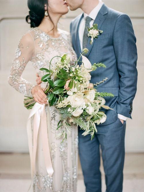 Huong Derek Stylish San Francisco City Hall Wedding Featured