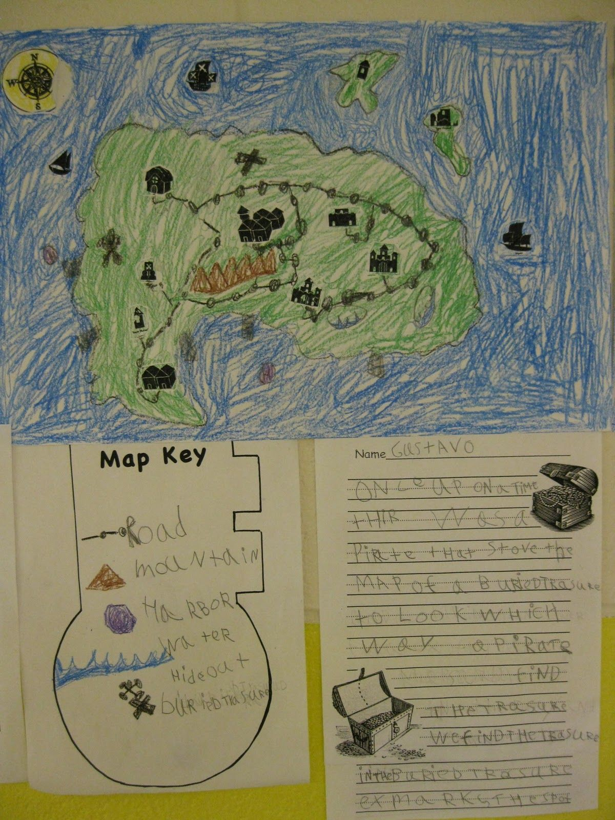 Create Your Own Pirate Map Project