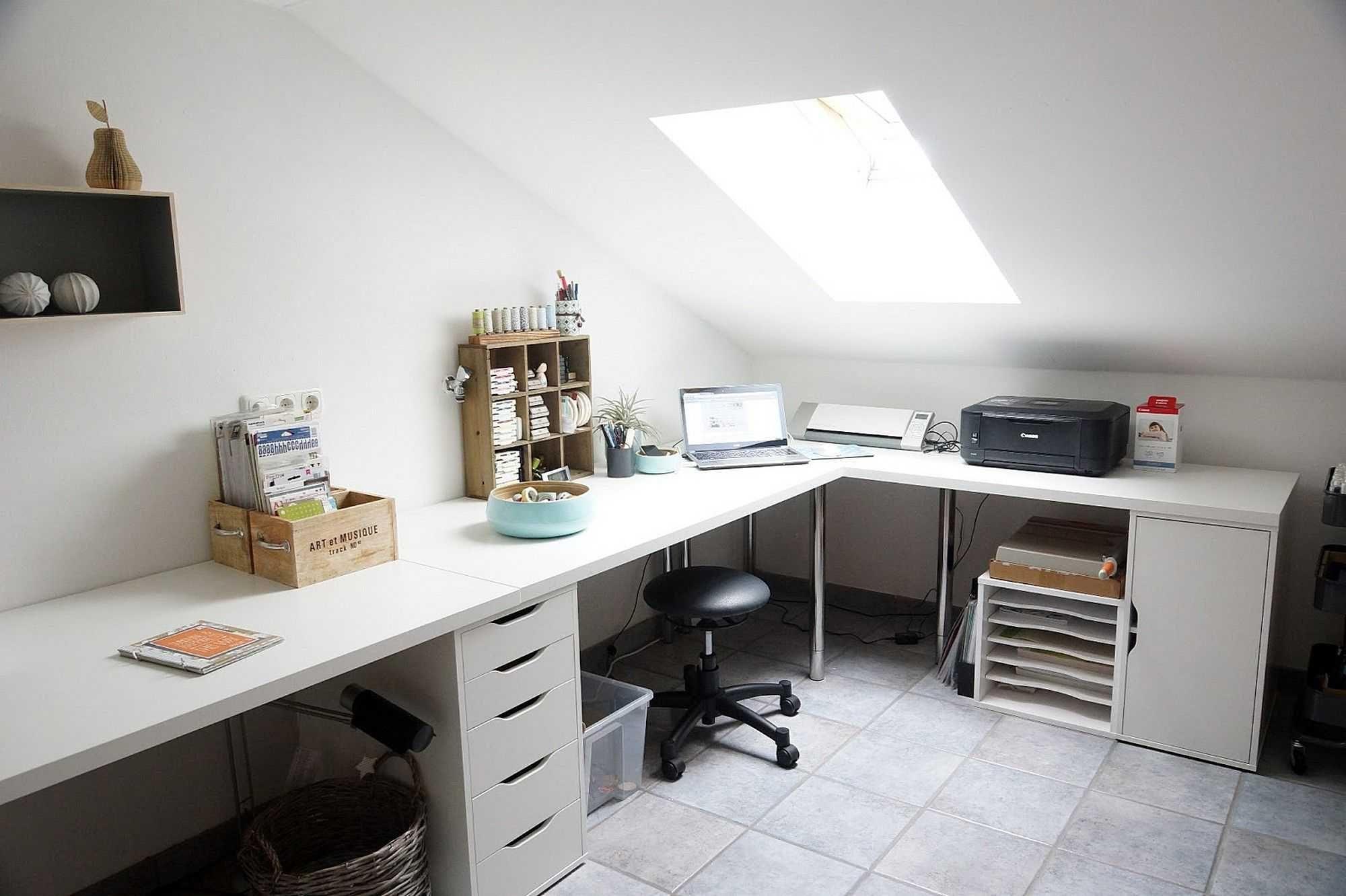 Home desk home fice corner desk setup ikea linnmon adils from