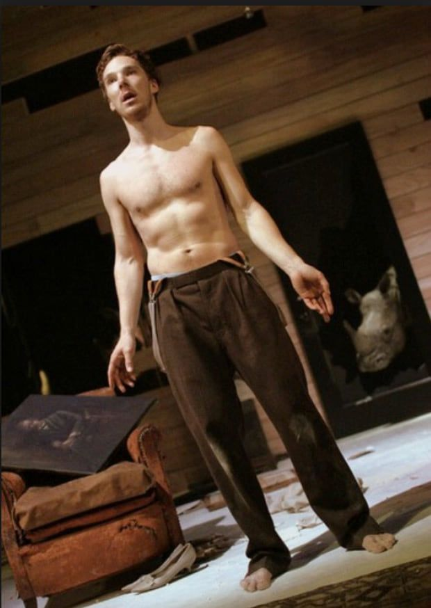 Benedict Cumberbatch shirtless in movie - Naked Male