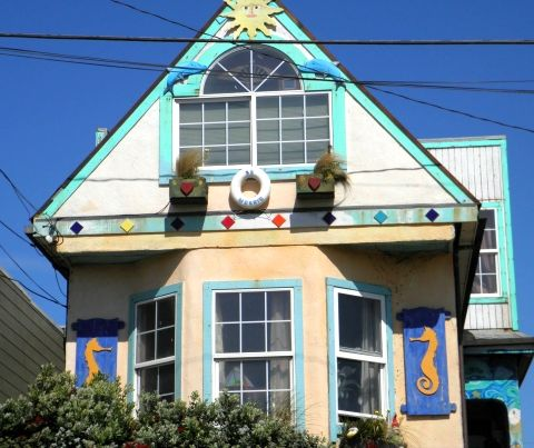 Painted Houses Designpainted houses and buildings Pinterest