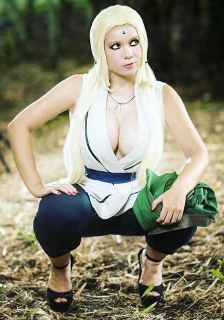 Not hear naked cosplay of tsunade cannot