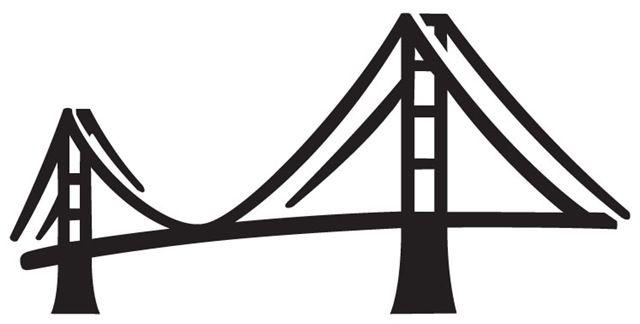 bridge icon | Cartoon Bridge | Bridge icon, Art images ...