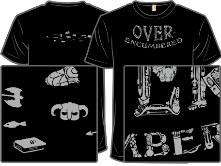 ba92e9a6 Today's shirt woot is awesome... anyone played Skyrim should get what's  going on.