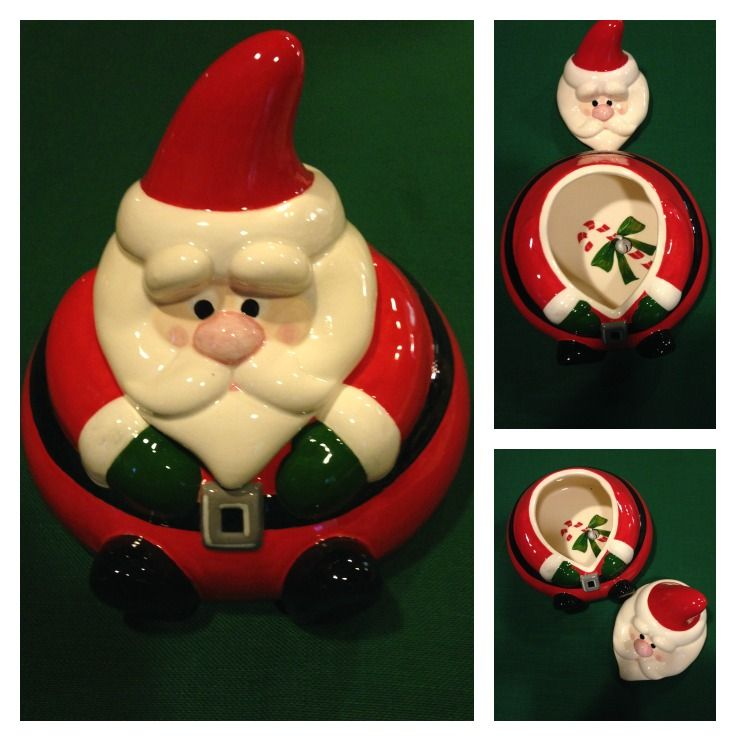 Fat Santa Candy Bowl... with a surprise inside!