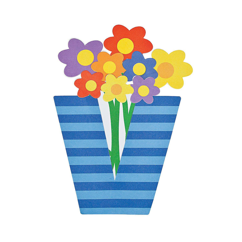 V Is For Vase Lowercase Letter V Craft Kit