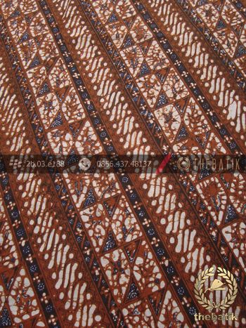 Kain Batik Motif Klasik Parang Klithik Seling | Indonesian Batik Fabric Pattern Design http://thebatik.co.id/kain-batik-bahan/
