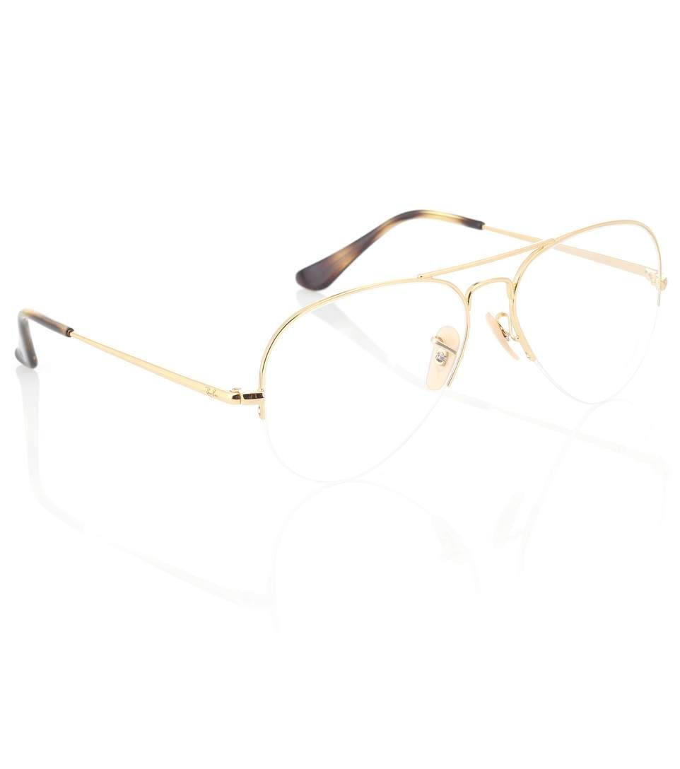 fc533cf1cf14f Rx6589 Aviator Gaze Glasses - Ray-Ban