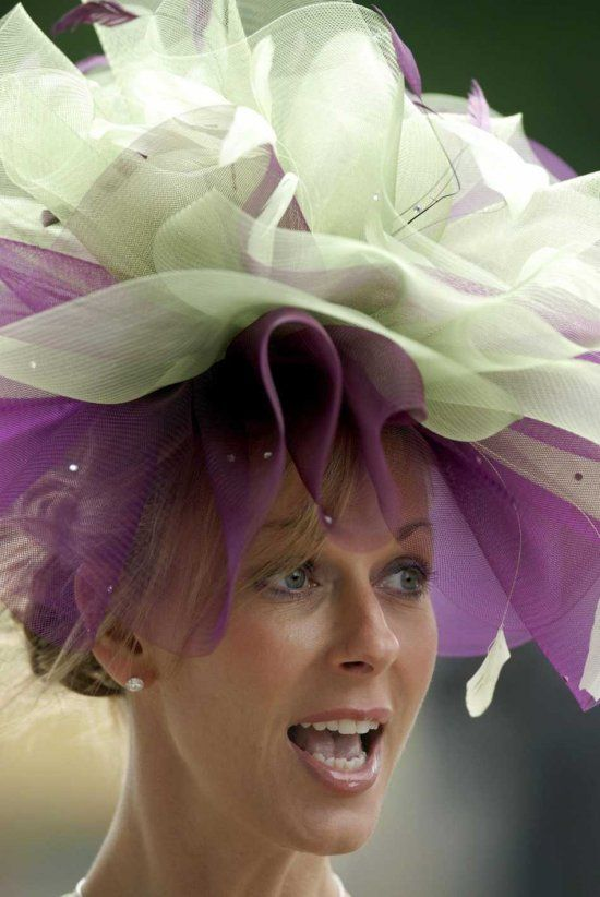ROYAL ASCOT 2009 A lady dresses for the occasion at the