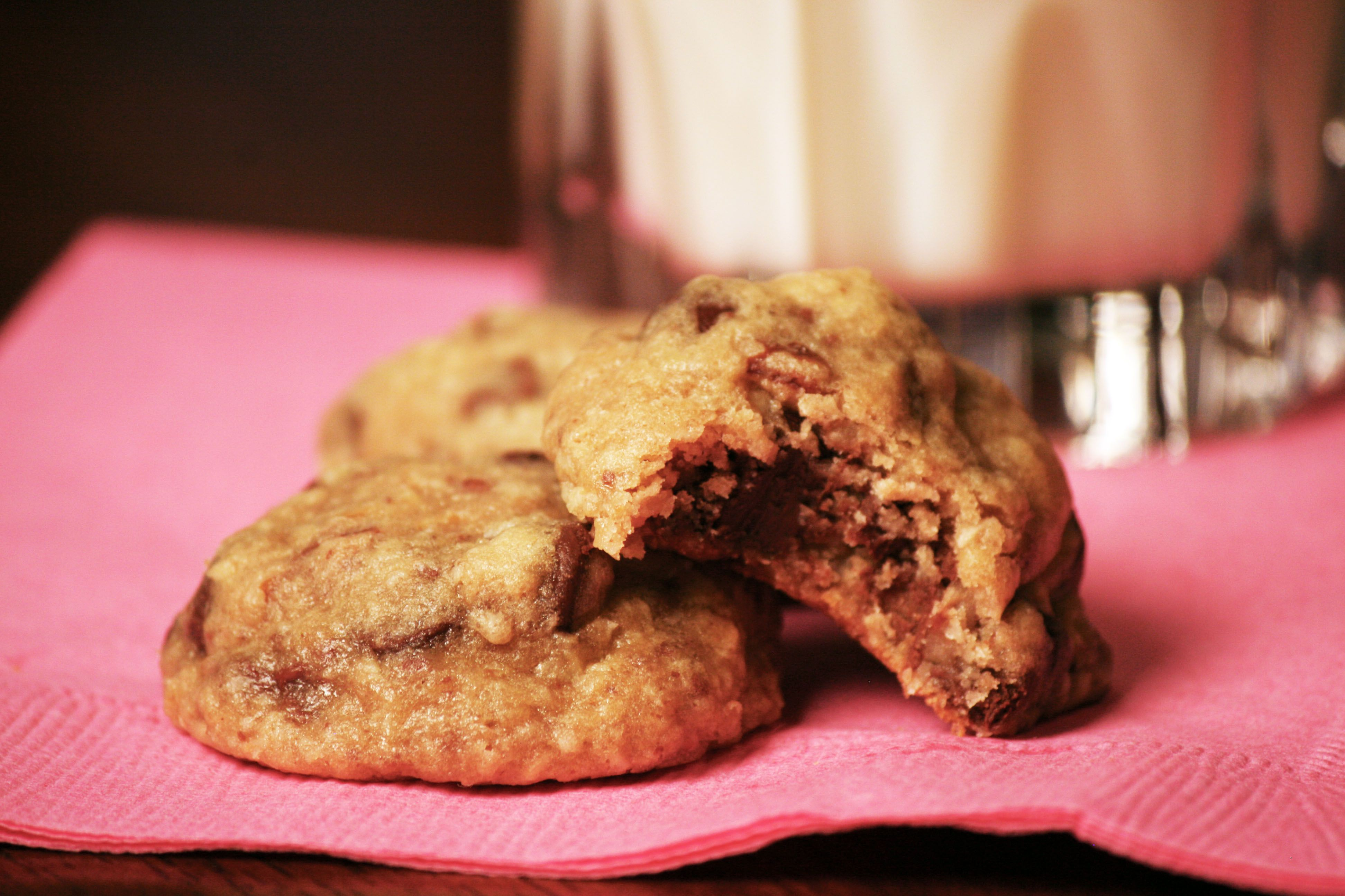 Stacey's Sweets Homemade Cookies aren't your typical flat, boring cookie.  They are super dense and rich bombs!