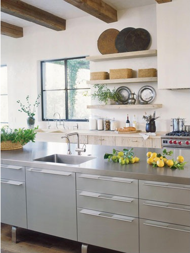 California Kitchen of Alexandra and Michael Miscynski.  Soooo perfect