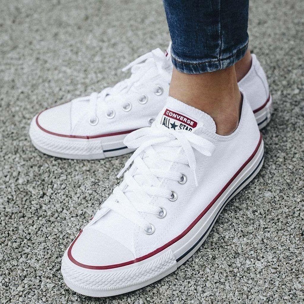 zapatos converse mujer blancos