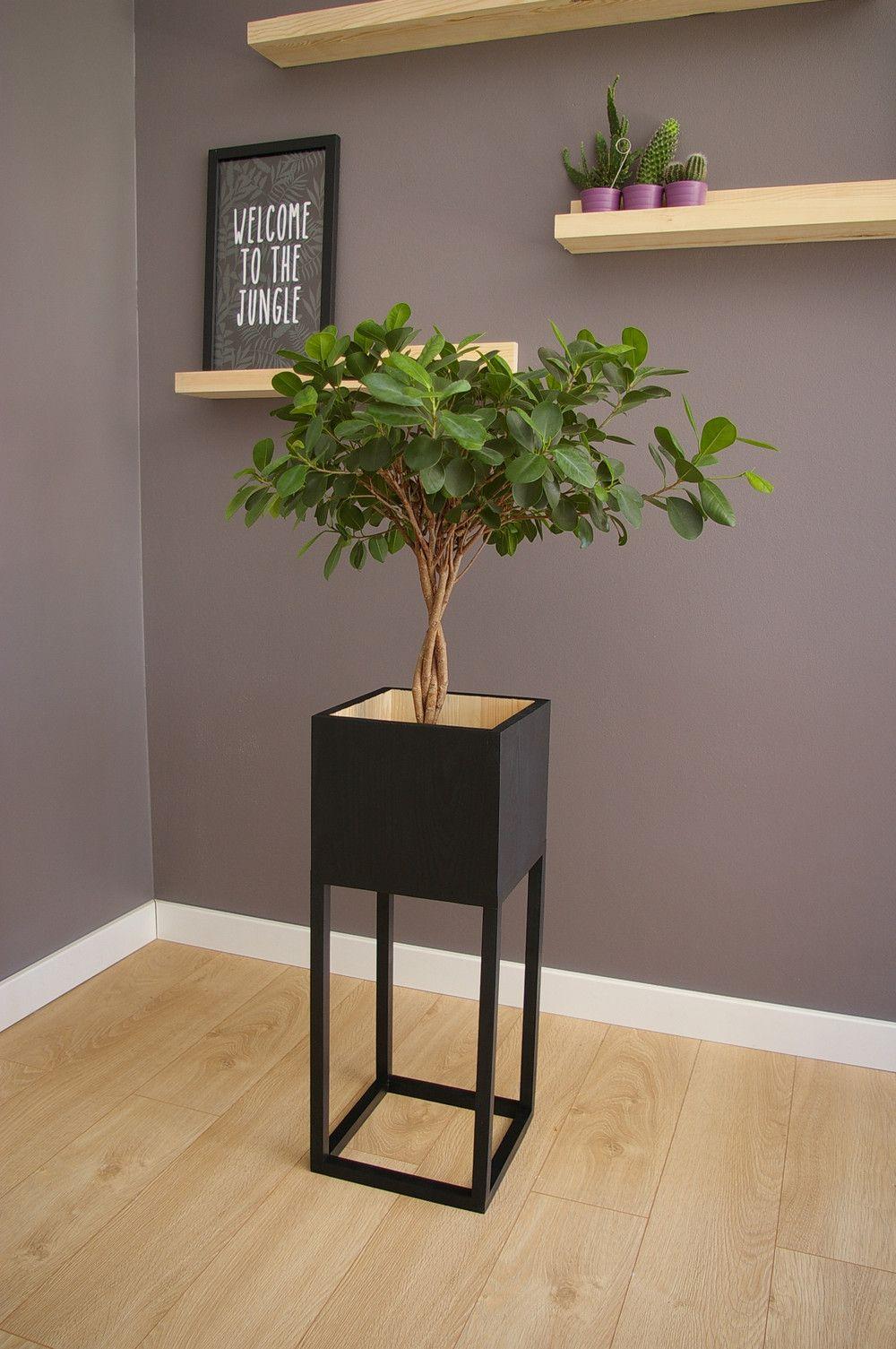 Kwietnik Stojak Na Kwiaty Donice Konsola Lalu Lady Lumberjack Dekoracje Decor Home Decor Plant Design