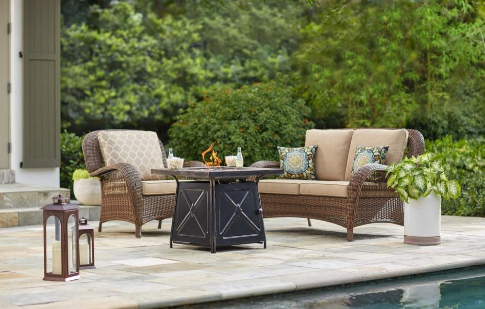 Shop our Patio Furniture Department to customize your ...
