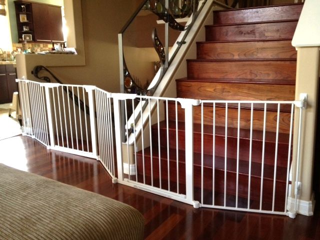 High Quality Gate For Bottom Of Stairs 12 Baby Wide
