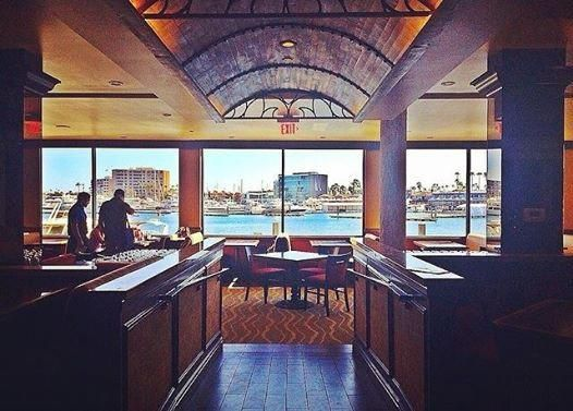 The Winery Restaurant Wine Bar Newport Beach Beautiful Marble High Top Tables Provide Humphooks Permanent Swivel Purse Hooks Under Table Mounted