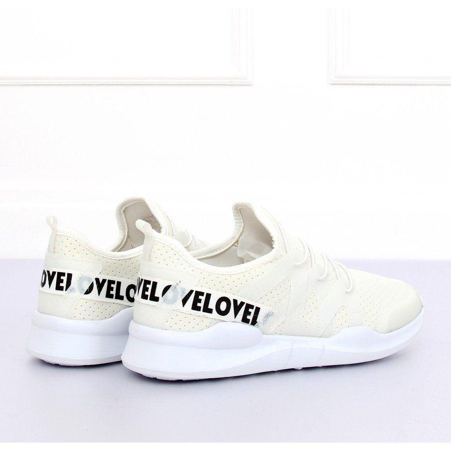Buty sportowe białe R 392 White w 2019 | Trampki damskie