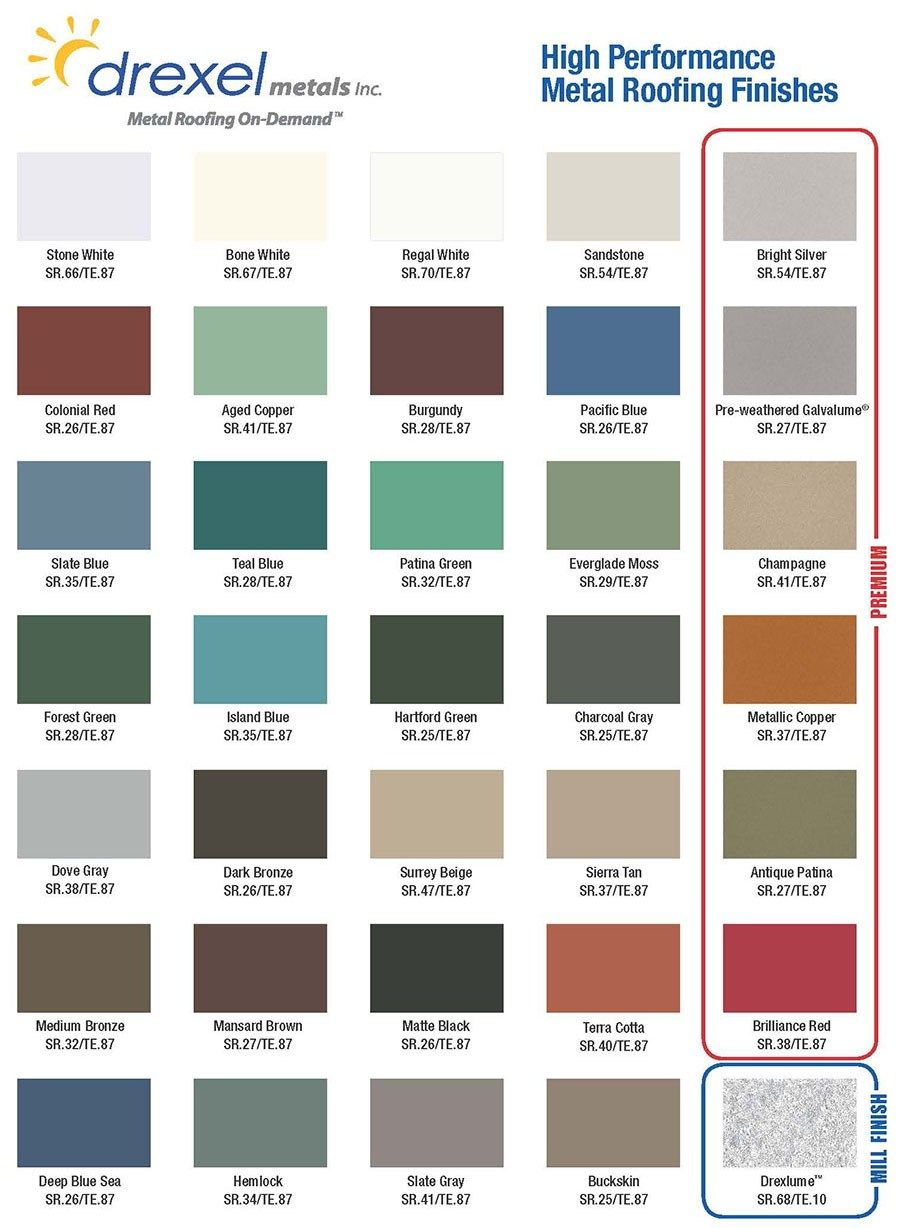 How To Pick The Right Metal Roof Color: Consumer Guide    MetalRoofing.Systems