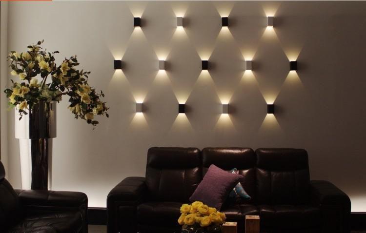 Wholesale Cheap Led Spotlight Wall Lamps Brand 3w Led Background Light 3w Led Wall Ligh Living Room Light Fixtures Wall Lights Bedroom Wall Lights Living Room