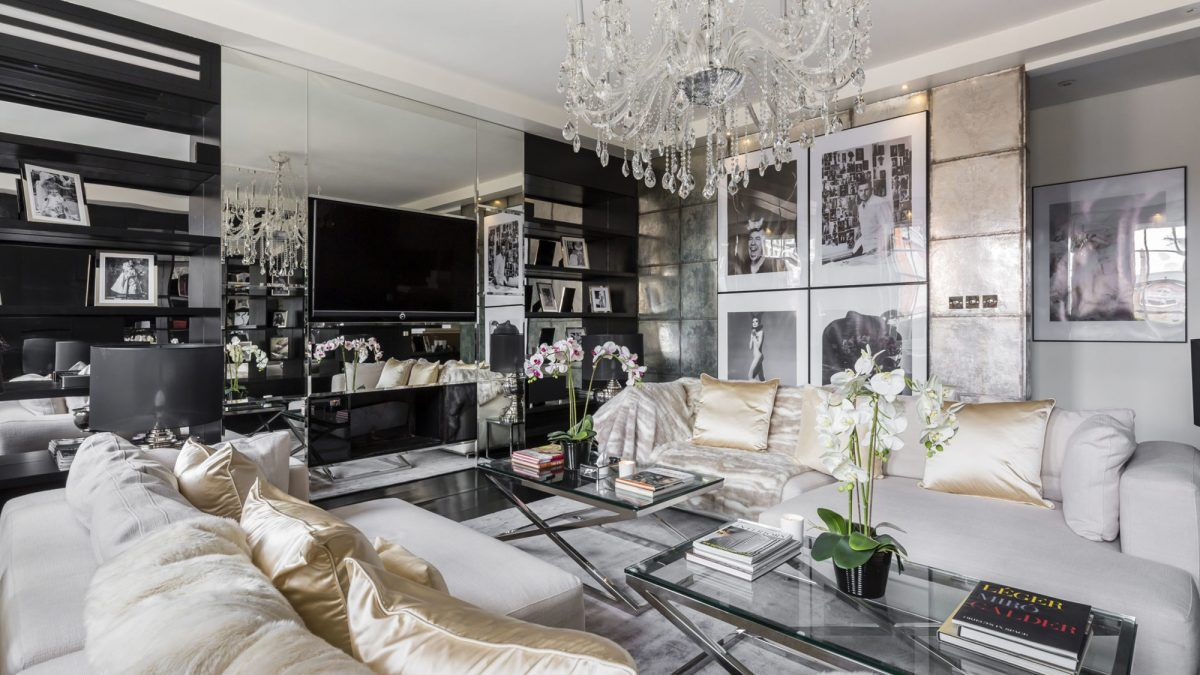 The late fashion designer Alexander McQueen's former London penthouse is up for sale on the London real estate market for $10.6 million.