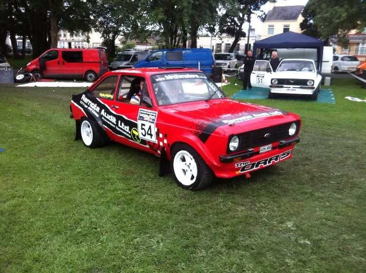 This car is fitted with 2 0 Duratec Scholar Race engine fitted with