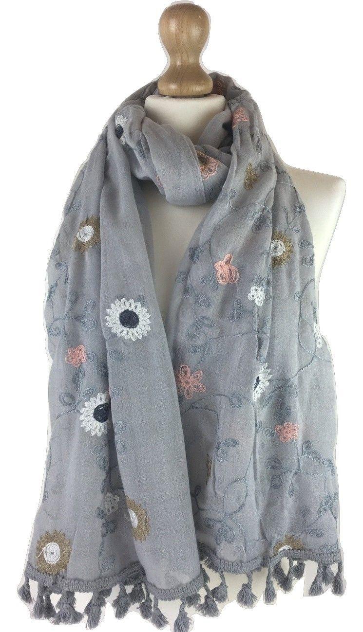 Elegant Paisley Floral Print Women Ladies Scarf Shawl Stole Wrap Hijab Quality