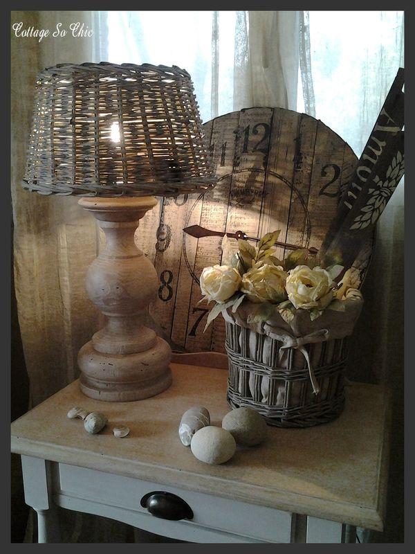 A charming rustic French vignette....    ᘡղbᘠ