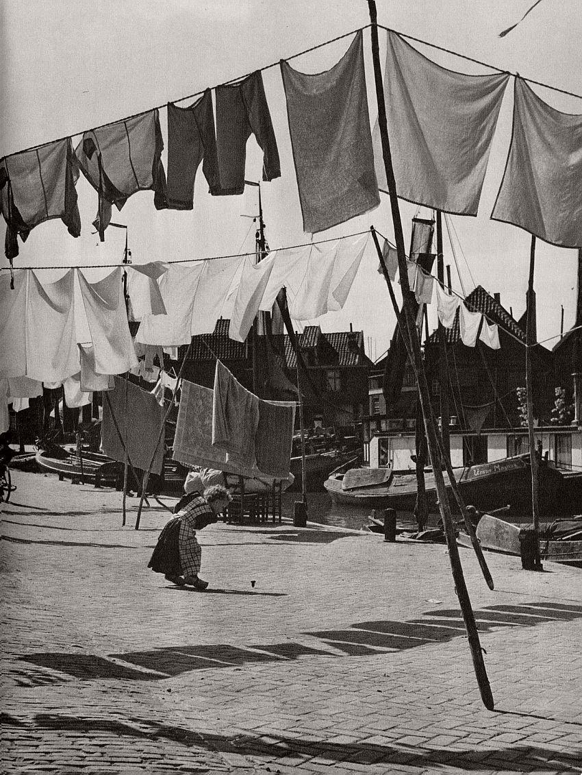 Ed van Wijk, Spakenburg, 1950.