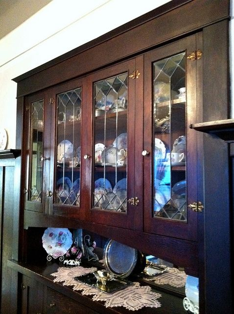 Built In China Cabinet The Dining Room Of Our 1914 Craftsman Home