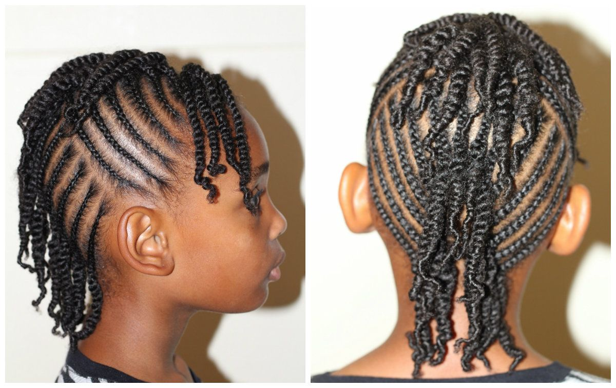 Cornrow Mohawk Hairstyle. Nice And Neat And A Great