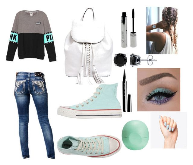 """""""The boss of all outfits"""" by malrocks2003 on Polyvore featuring Miss Me, Converse, Rebecca Minkoff, BERRICLE, Marc Jacobs and Eos"""