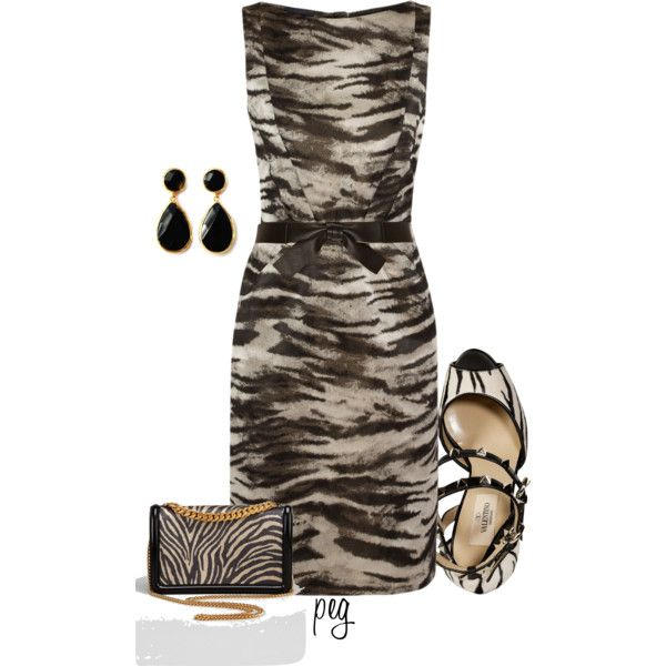 Zebra, created by derniers on Polyvore