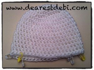9c8e286f984 Crochet Newborn Hello Kitty Hat   Diaper Cover by DearestDebi Cute little newborn  crochet hat