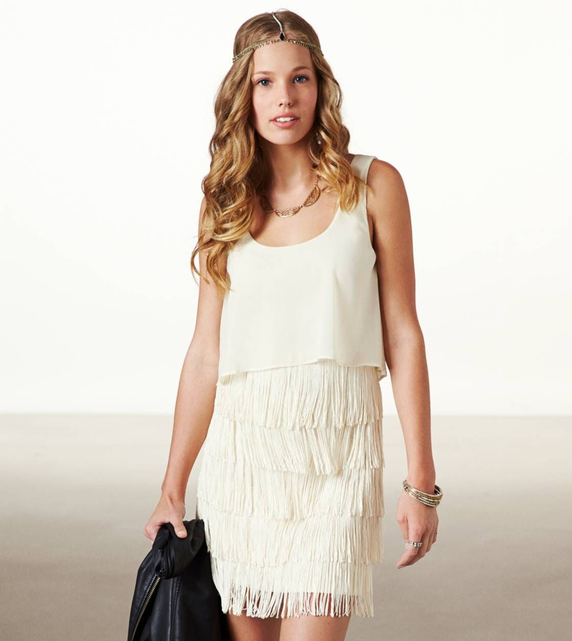 What I Want To GET AE FRINGE TIERED DRESS 3 Since An American Eagle Store Opened Near My House Im Always Thinking About This Dress