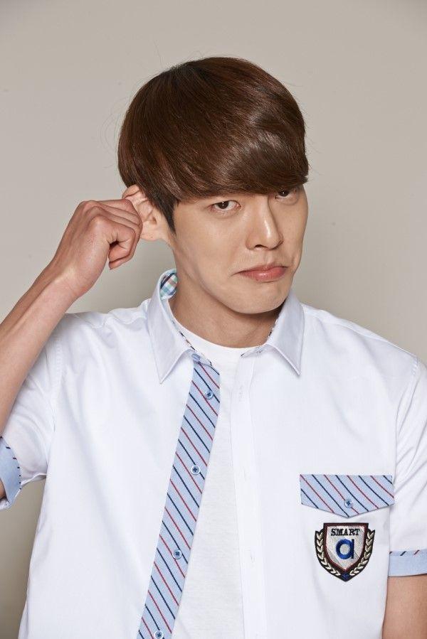 140323 Kim Woo Bin For School Uniform Brand Smart 2014 김우빈 Dengan Gambar
