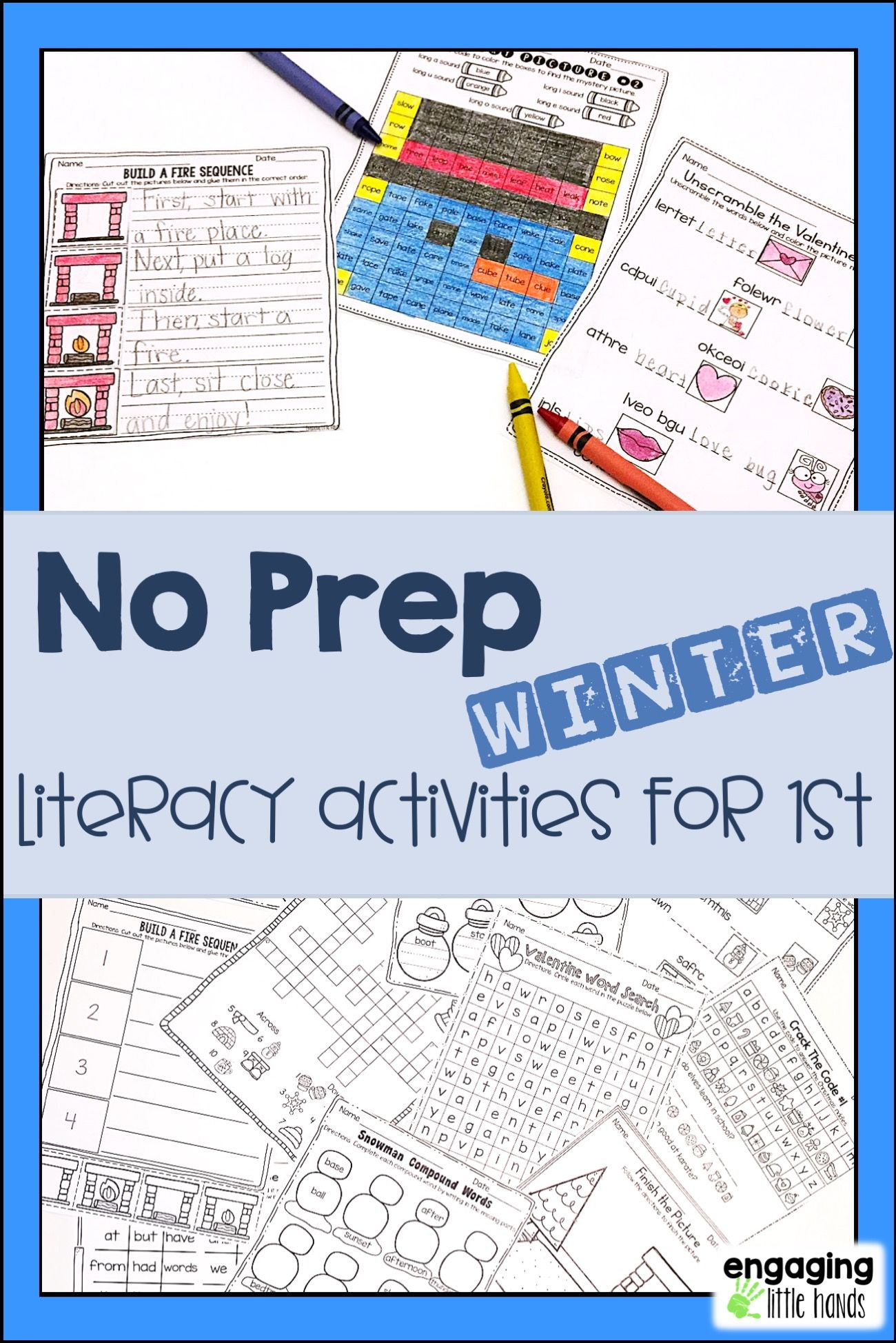 Winter Literacy Activities For First Grade